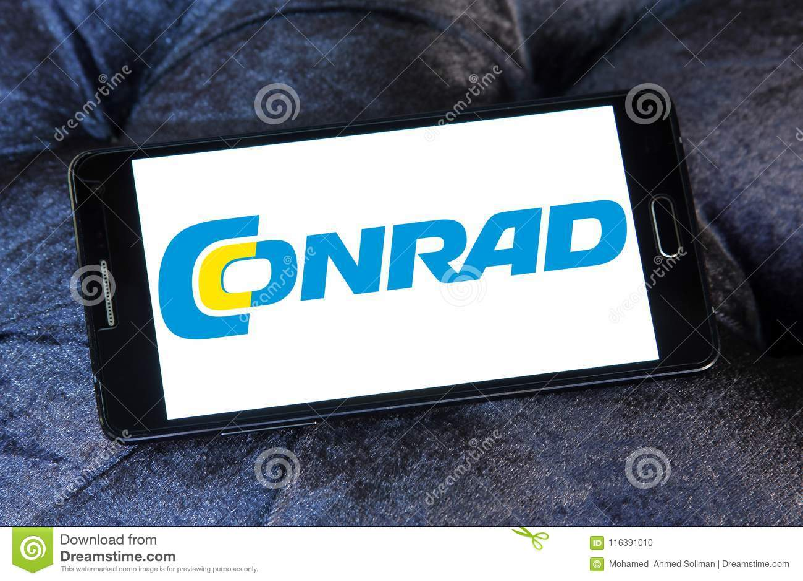 Conrad Electronics Retailer Logo Editorial Image - Image of logo