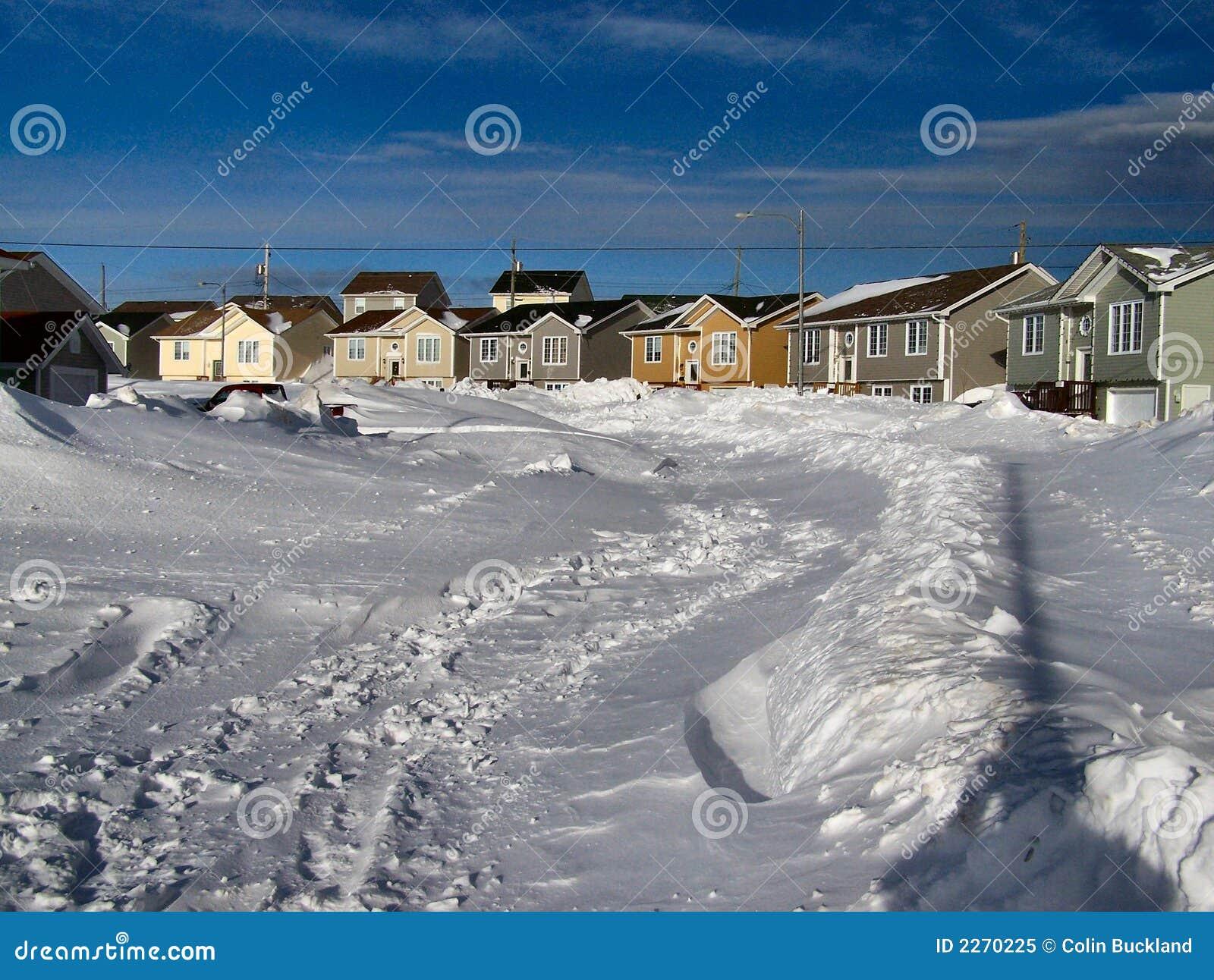 Conséquence 2 de tempête de l hiver