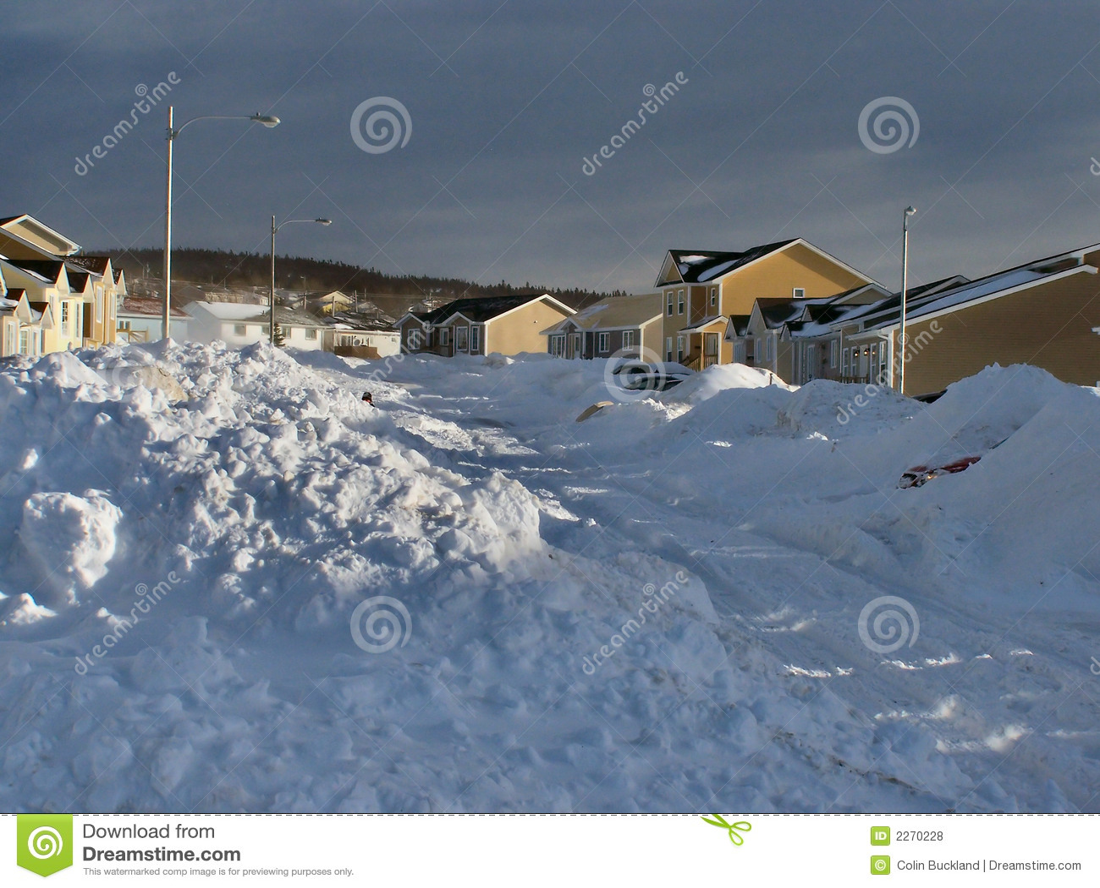 Conséquence 3 de tempête de l hiver