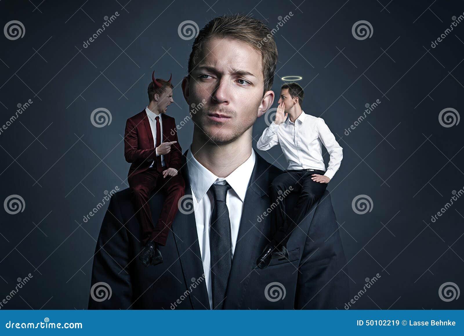 conscience stock photo