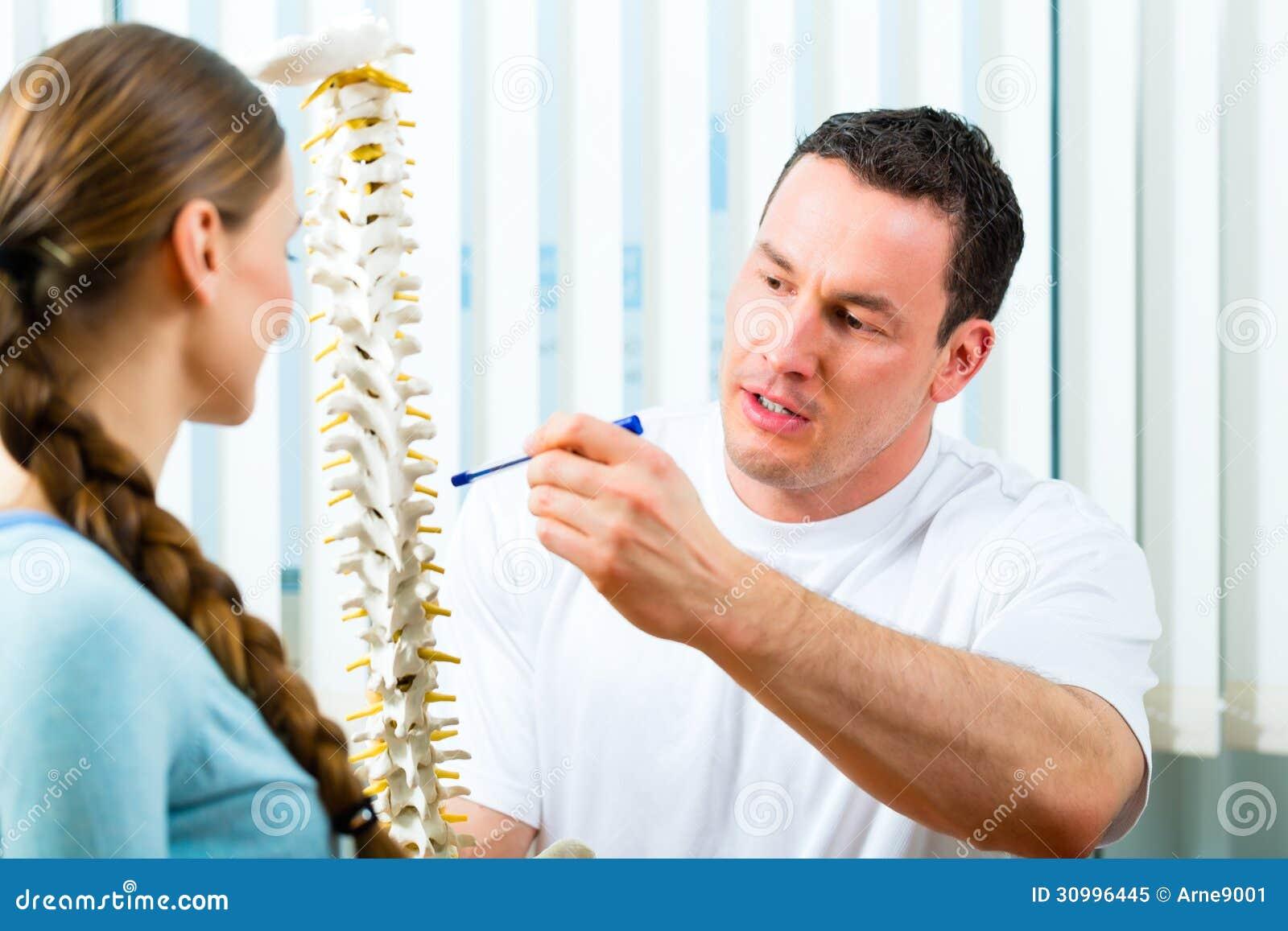 Conseil - patient à la physiothérapie
