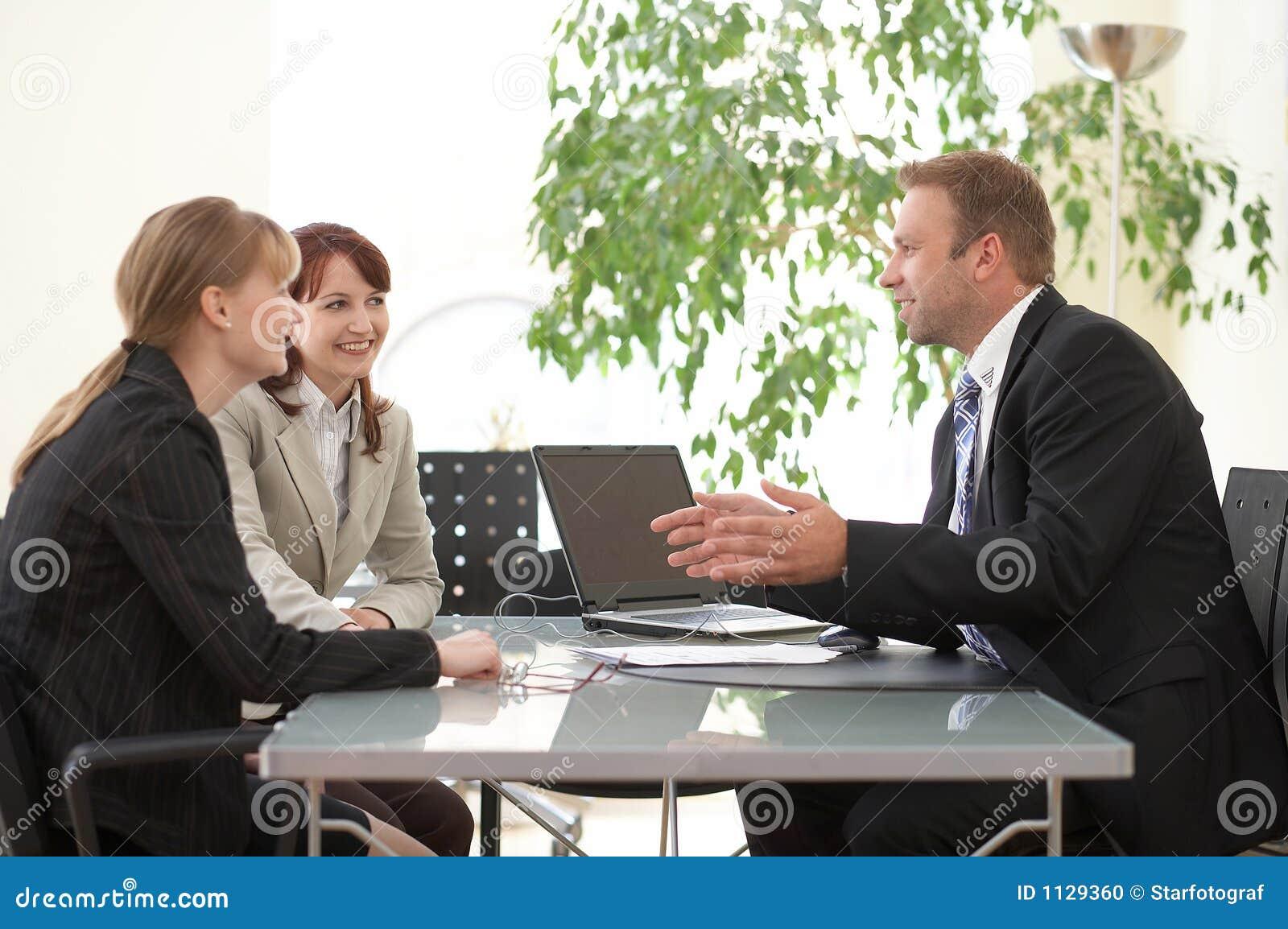 Conselho, negócio, vendedor