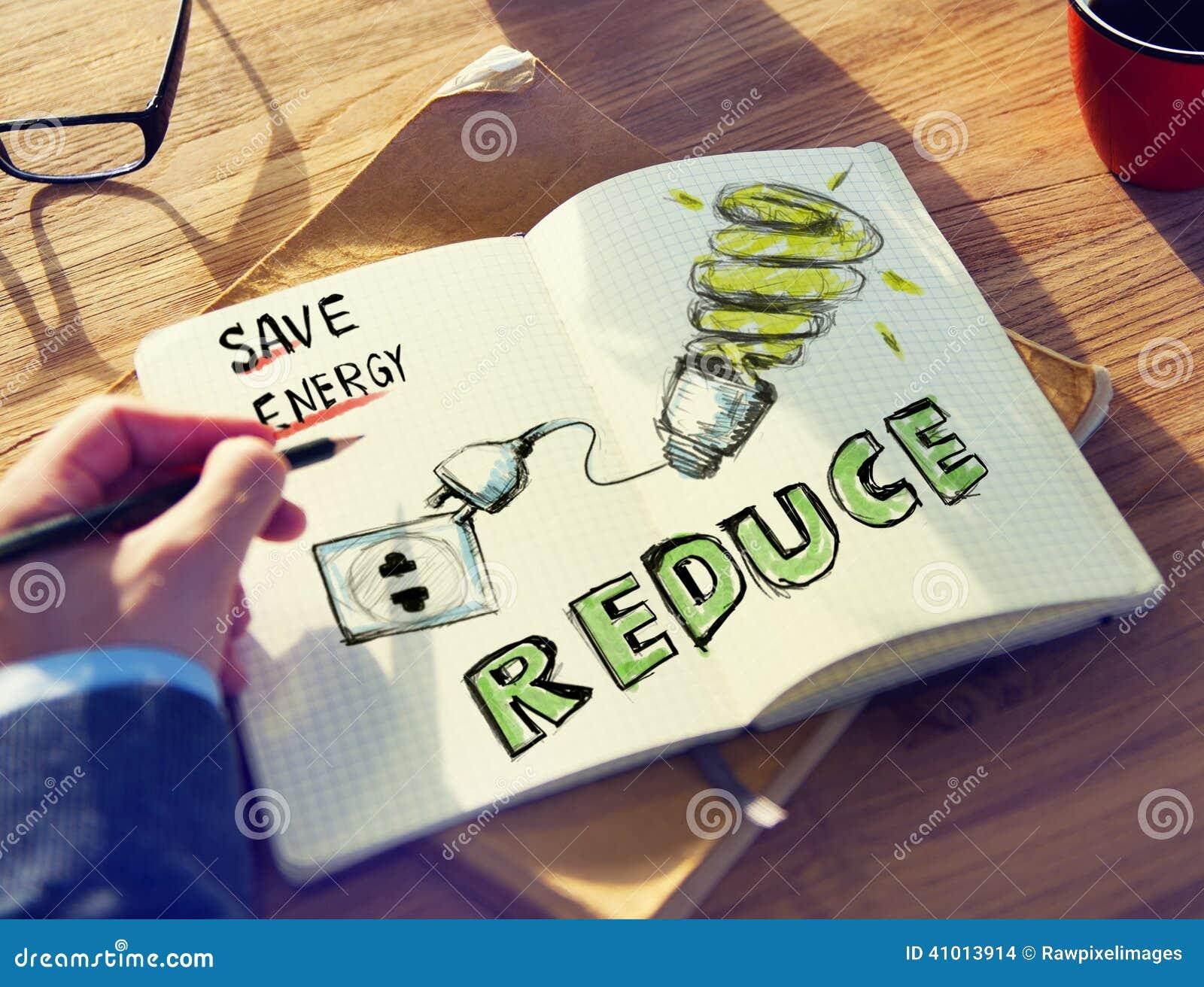 Conservation de Brainstorming About Energy d homme d affaires