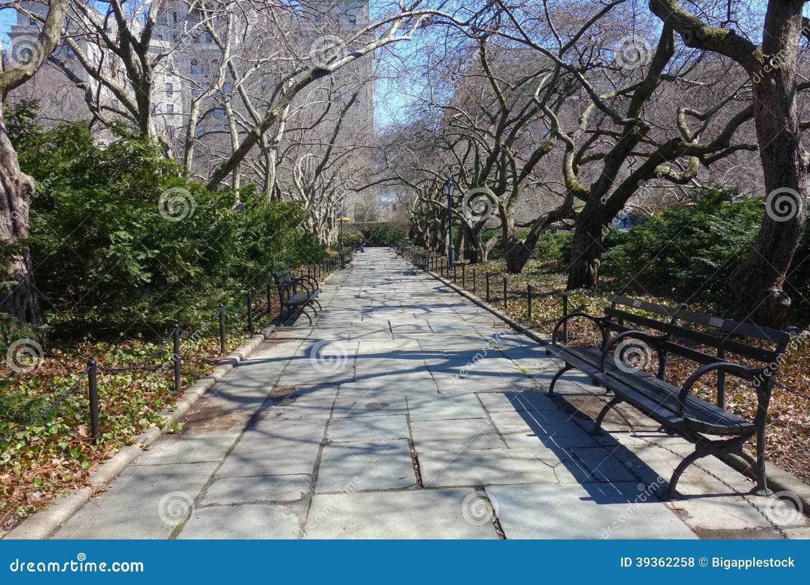 Conservatory Garden in New York City