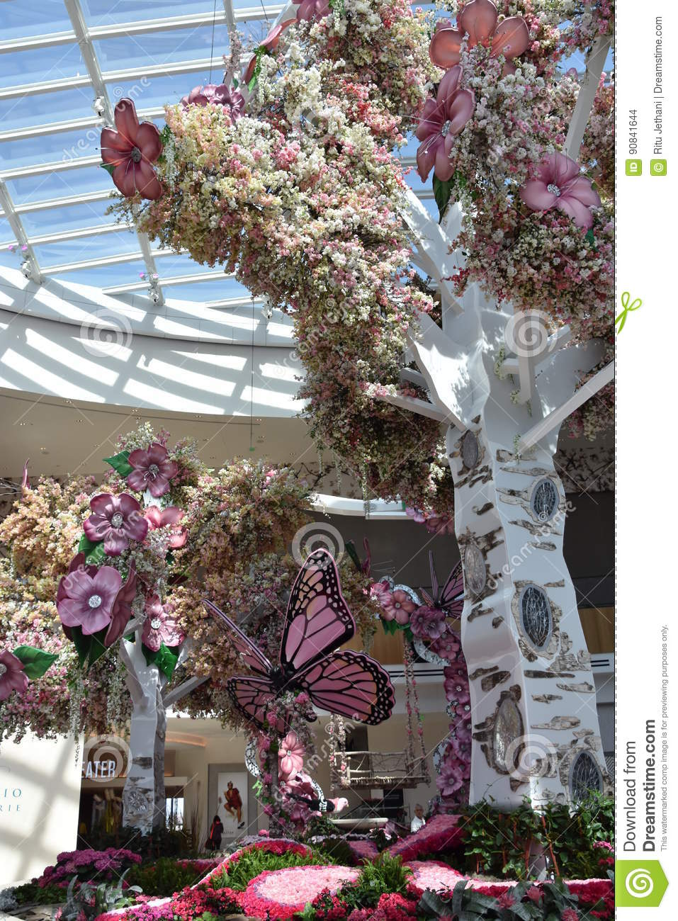 Conservatory At The MGM Casino Resort At National Harbor Editorial ... dc0d4ce986b