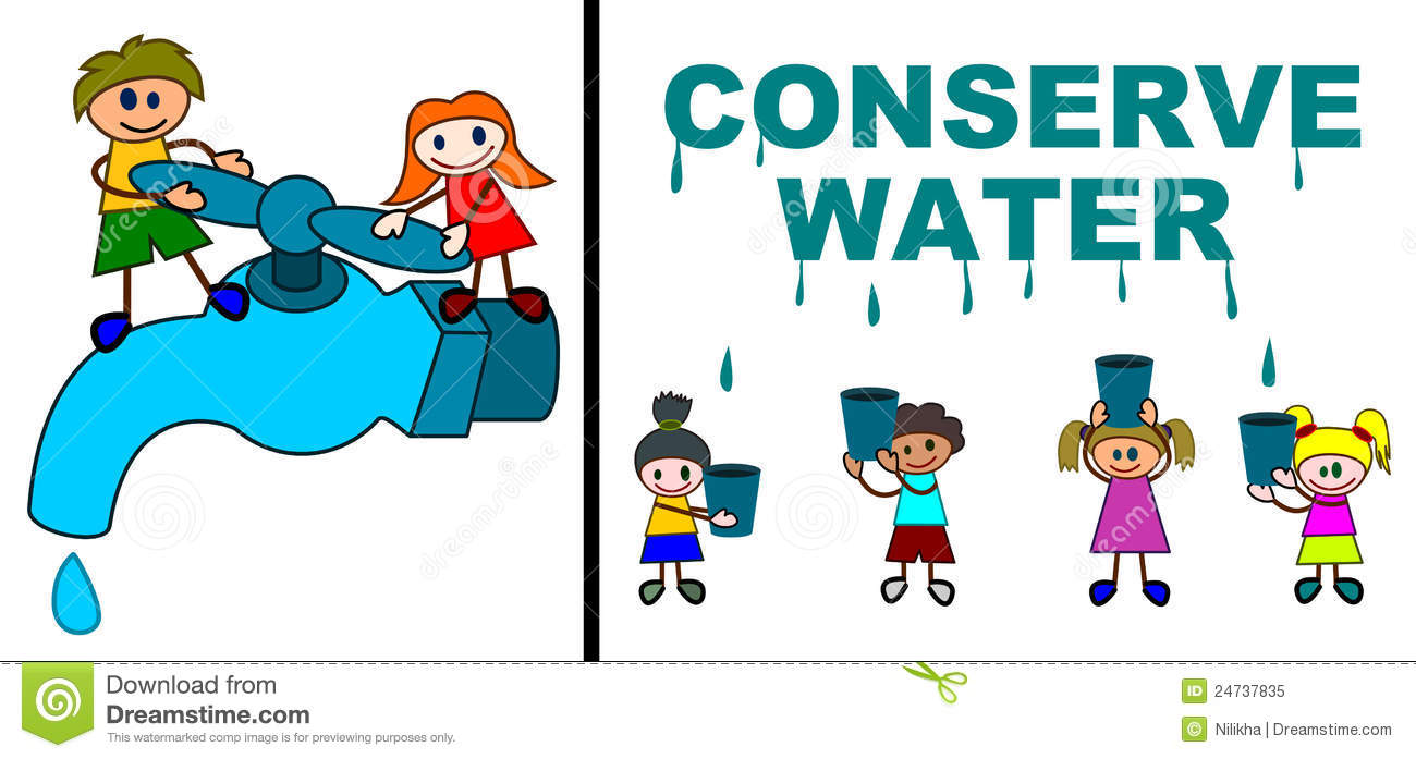 Water Conservation Kids Stock Illustrations 42 Water