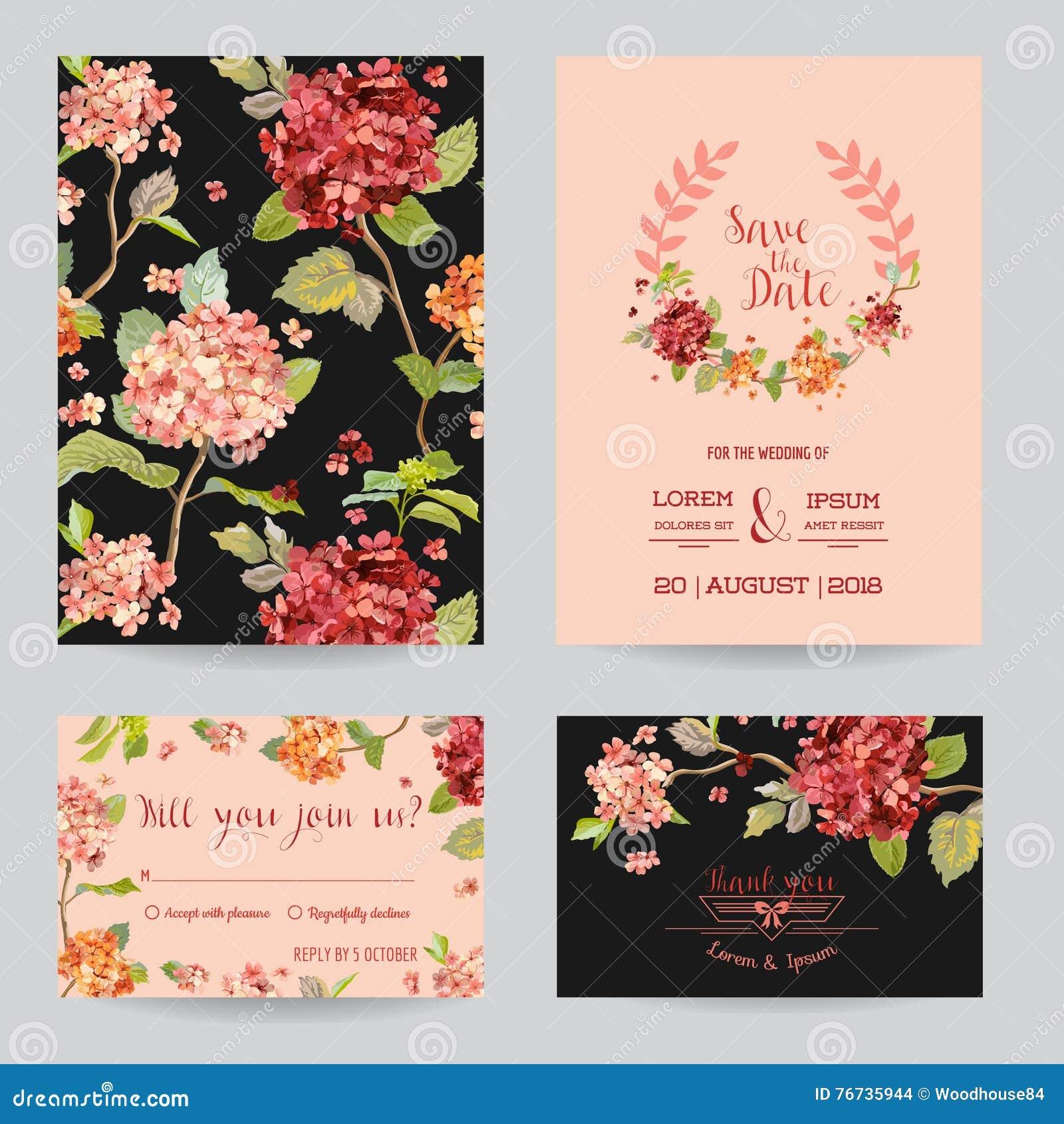 Conservi la data - insieme di carta dell invito o di congratulazione di nozze