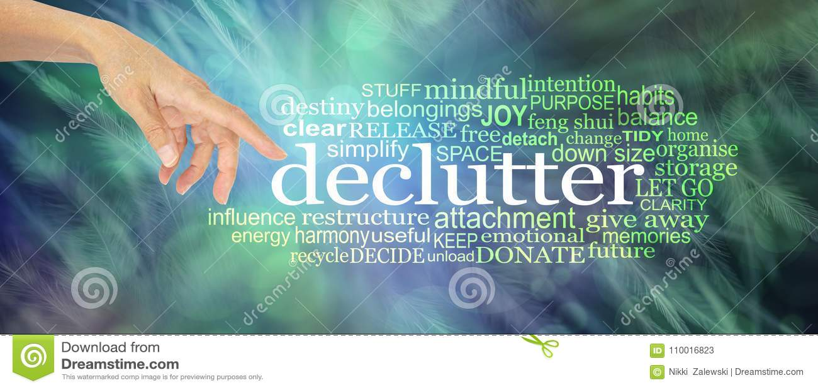 Considere a nuvem da palavra do esclarecimento da desordem