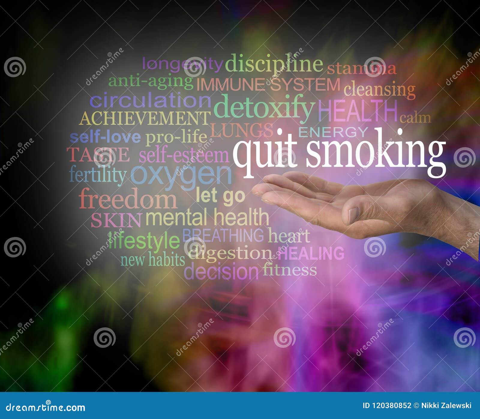 Considere por favor parar fumando a nuvem da palavra