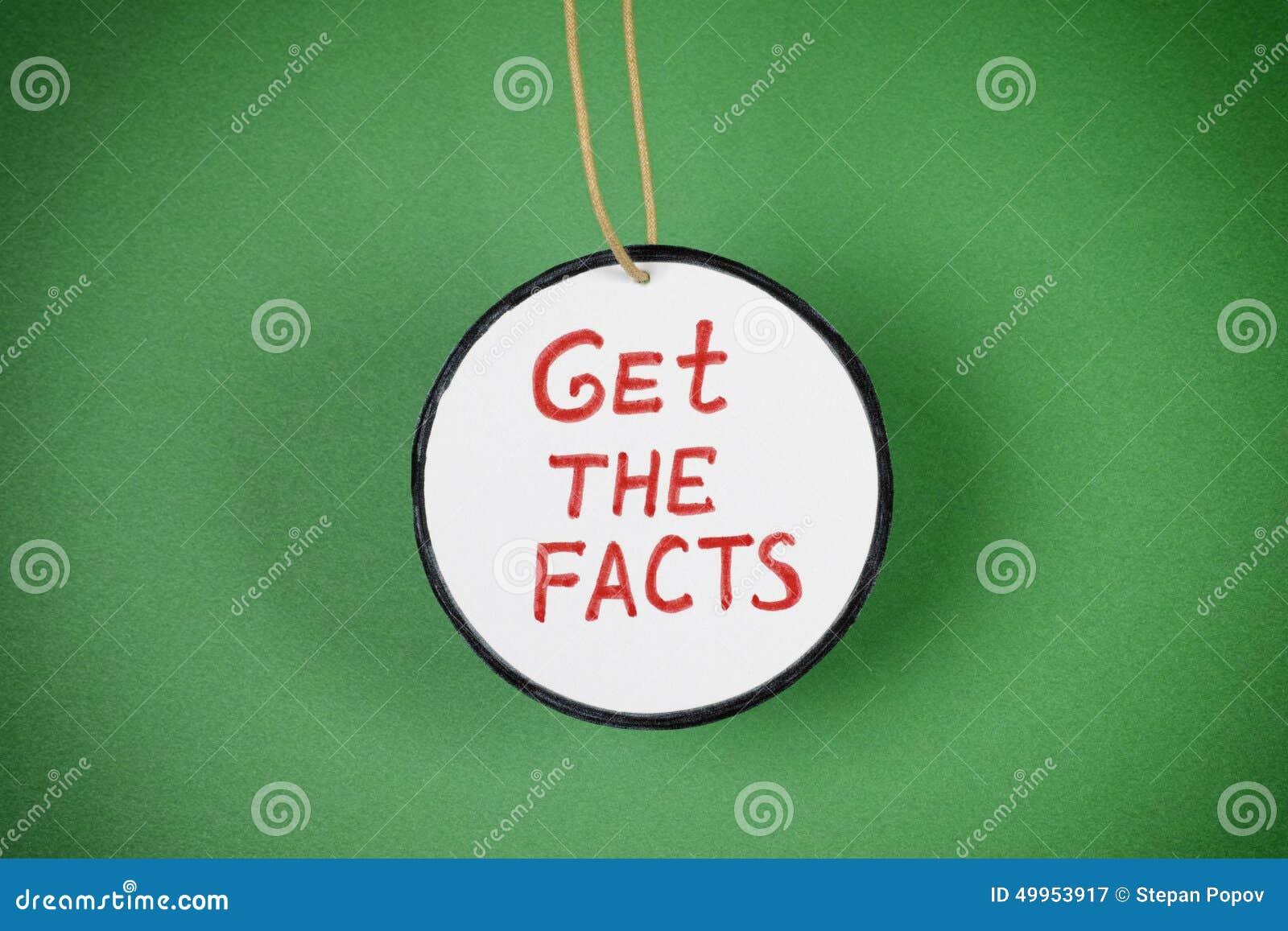 Consiga los hechos