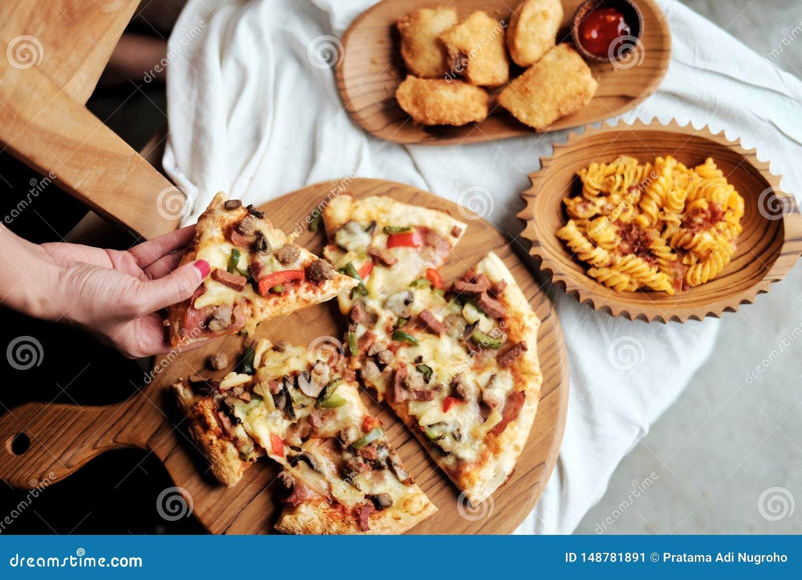 Consiga su pizza