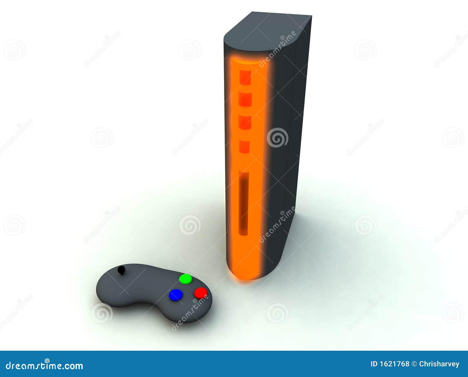 Consola 3 de los juegos