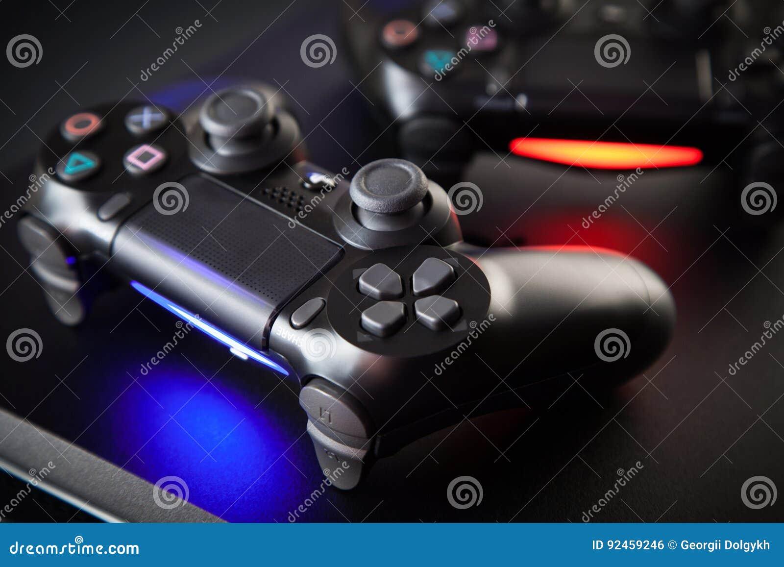 Consola del juego de Playstation 4