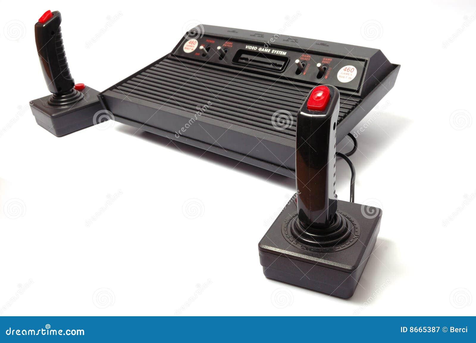 Consola del juego video