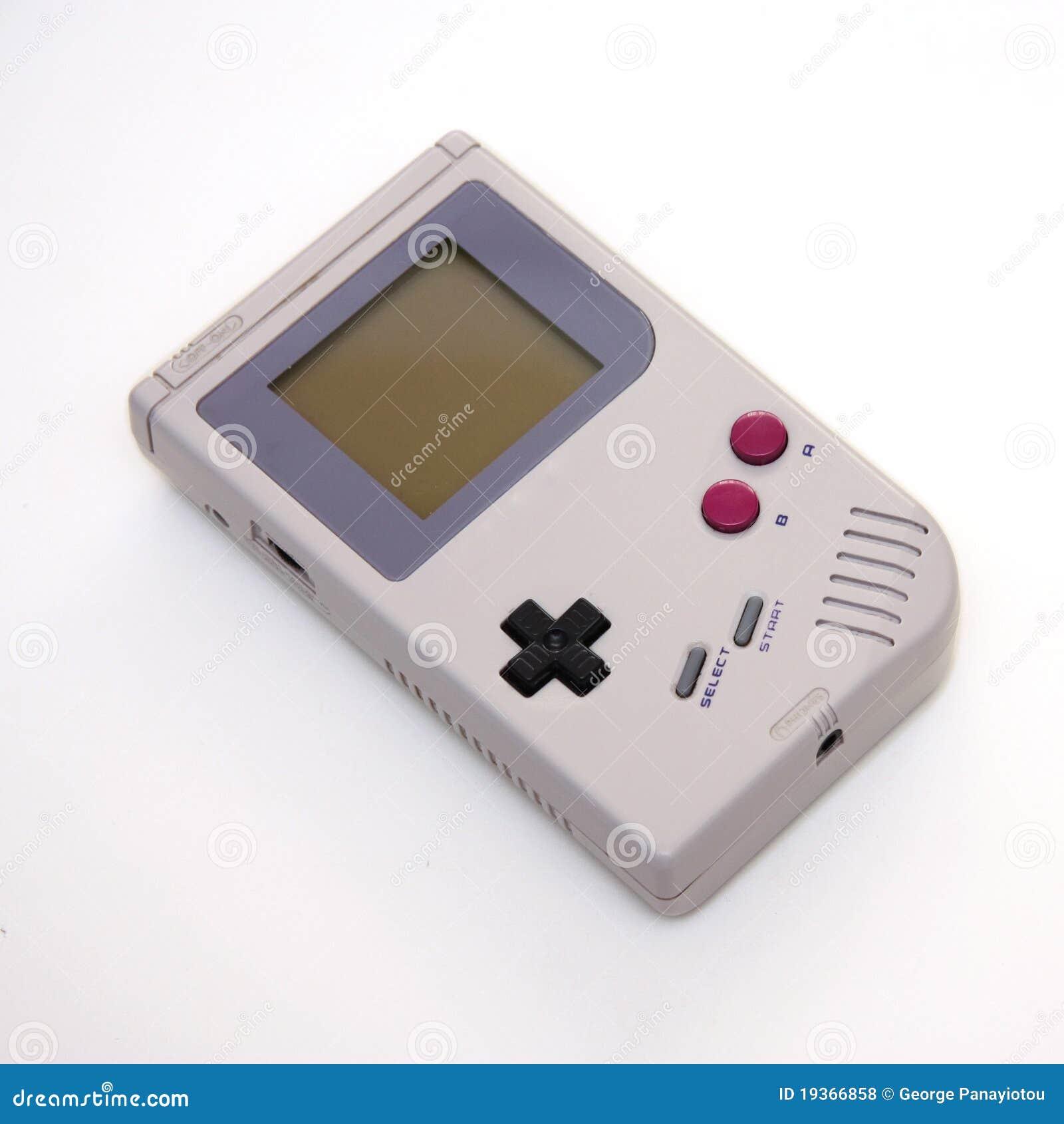 Consola portable del juego video