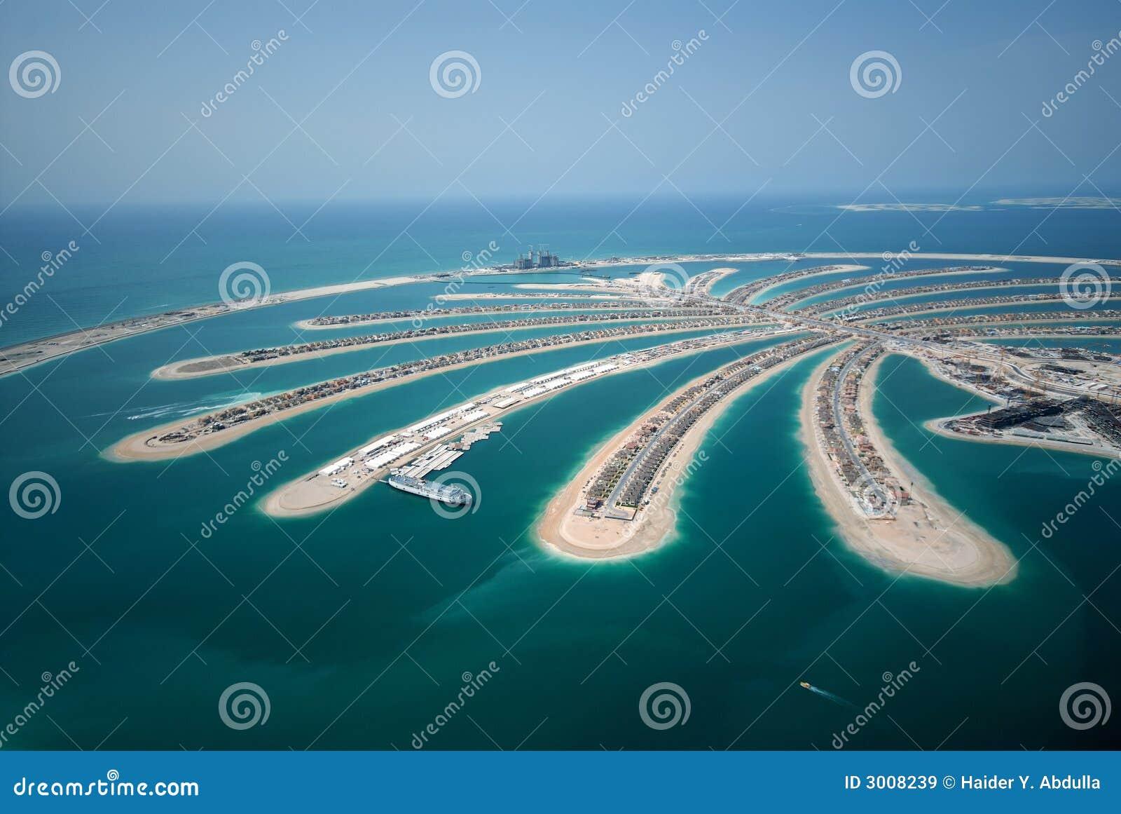 Console da palma de Jumeirah