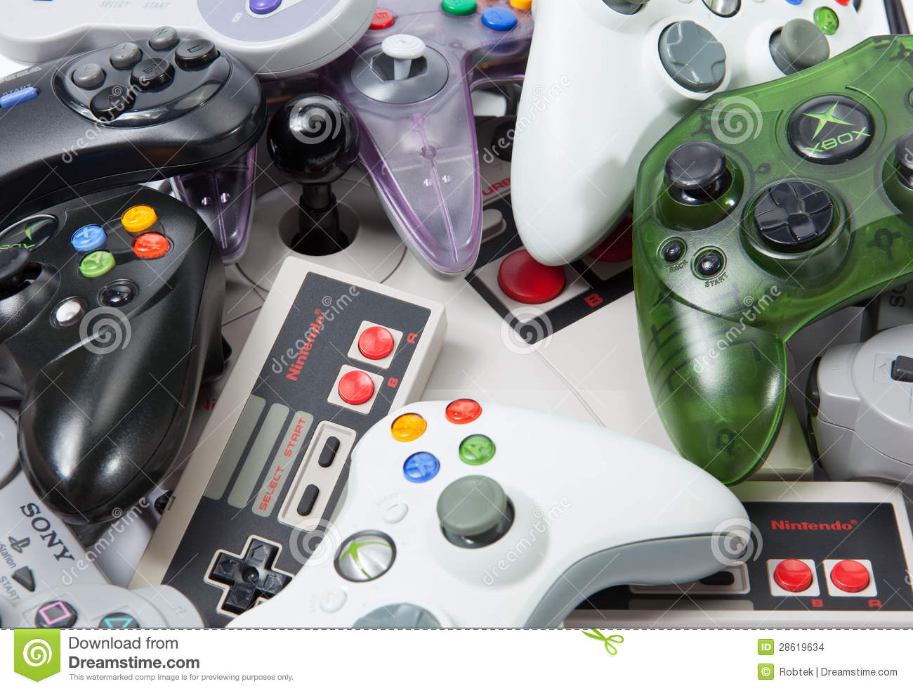 Console Gaming Controllers