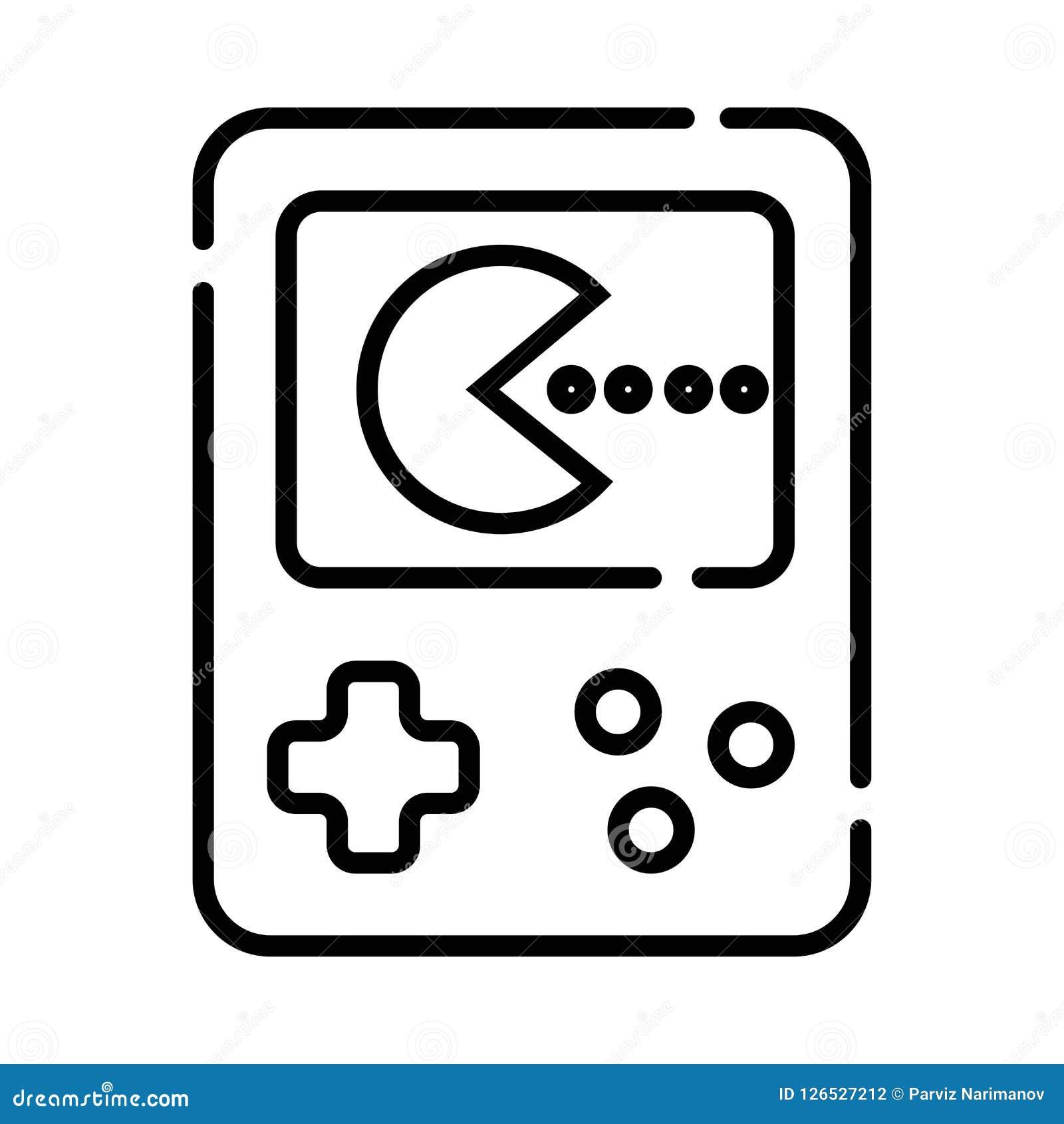 Console Handheld do jogo