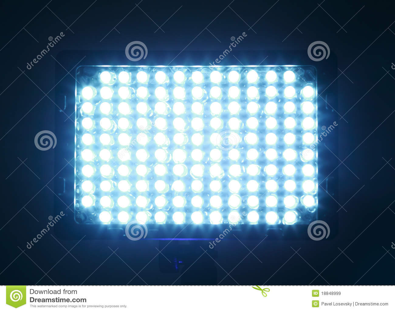 Constant licht voor video, leiden