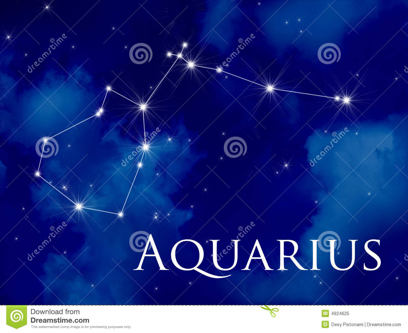 Aquarius Constellation Tattoo