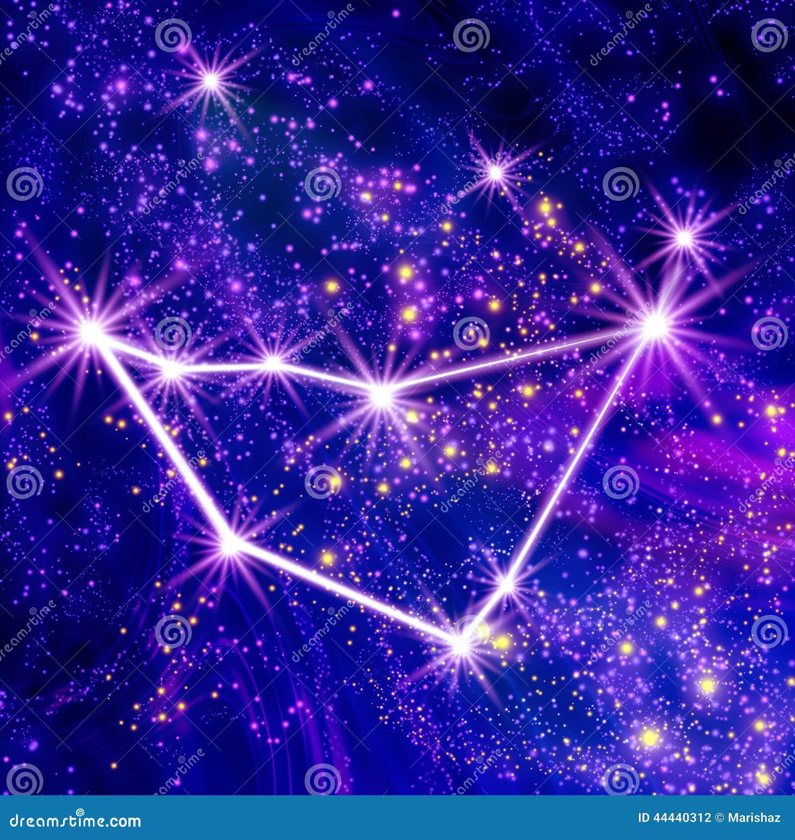 Constellation Capricorn Stock Illustration - Image: 44440312