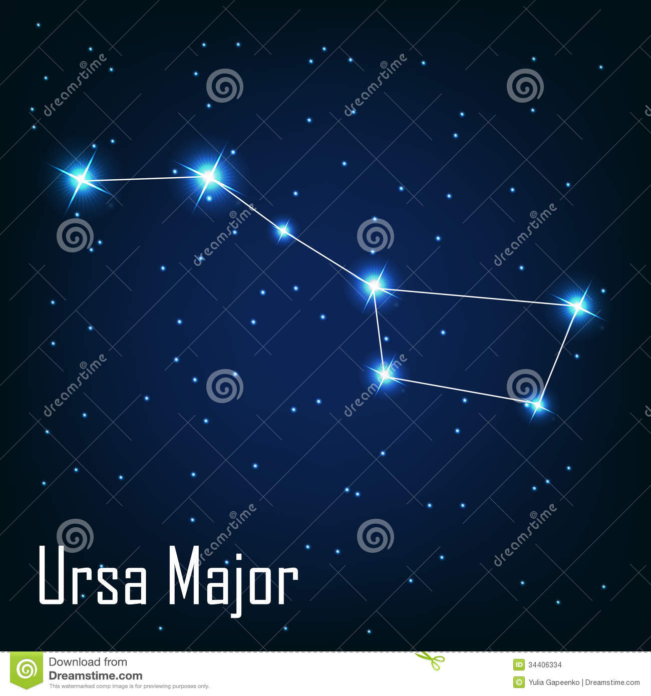 the constellation ursa major star in the night stock shooting star clip art images shooting star clipart gif