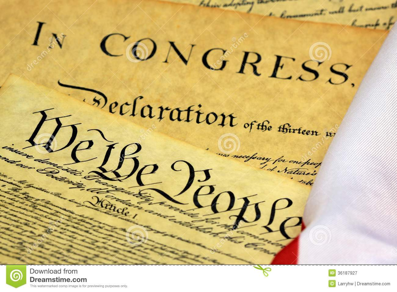 constitution of the people We the people of the united states, in order to form a more perfect union, establish justice, insure domestic tranquility, provide for the common defence, promote the general welfare, and secure the blessings of liberty to ourselves and our posterity, do ordain and establish this constitution for the united states of america.