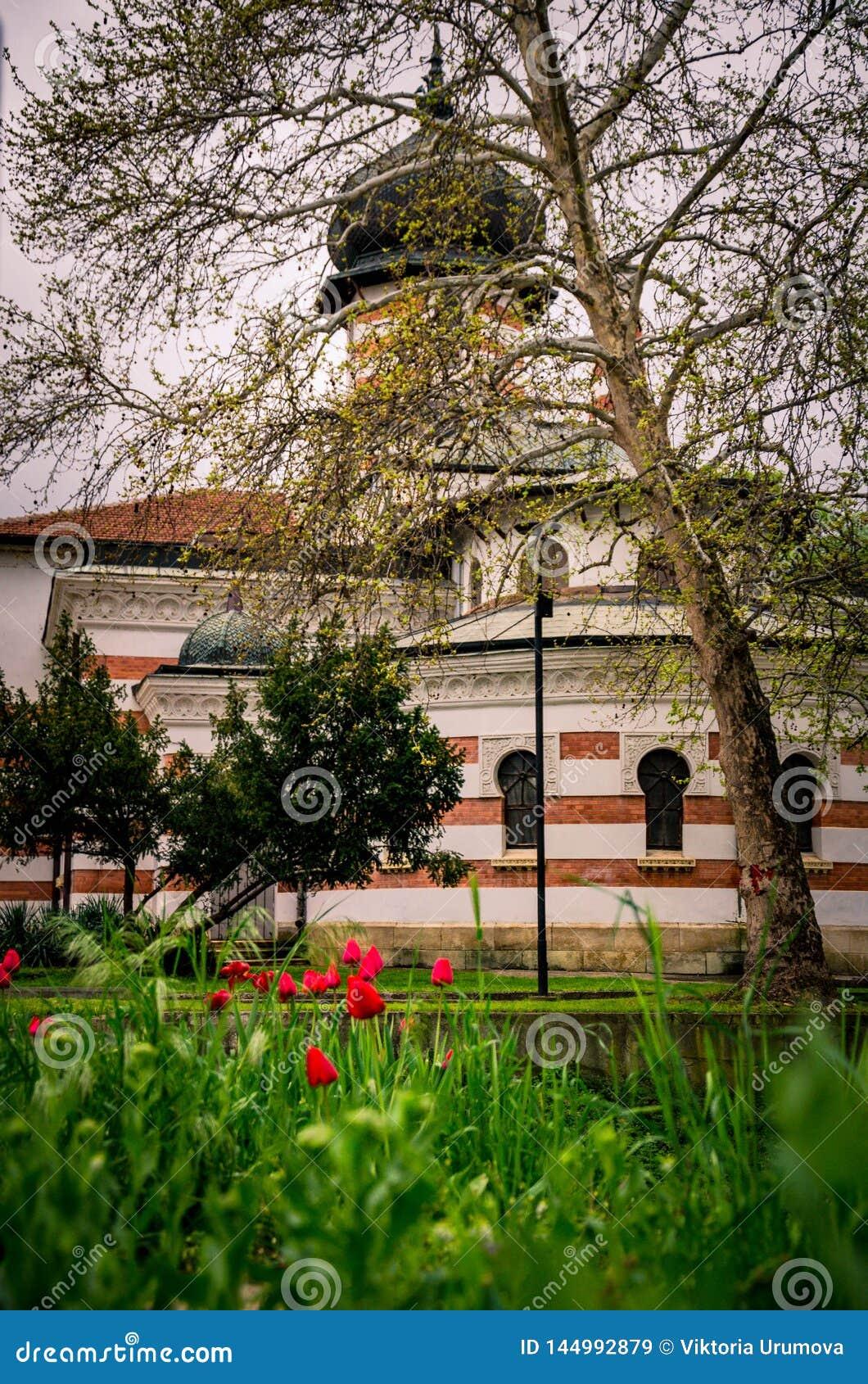 Construção de Art Gallery na cidade de Pleven, Bulgária