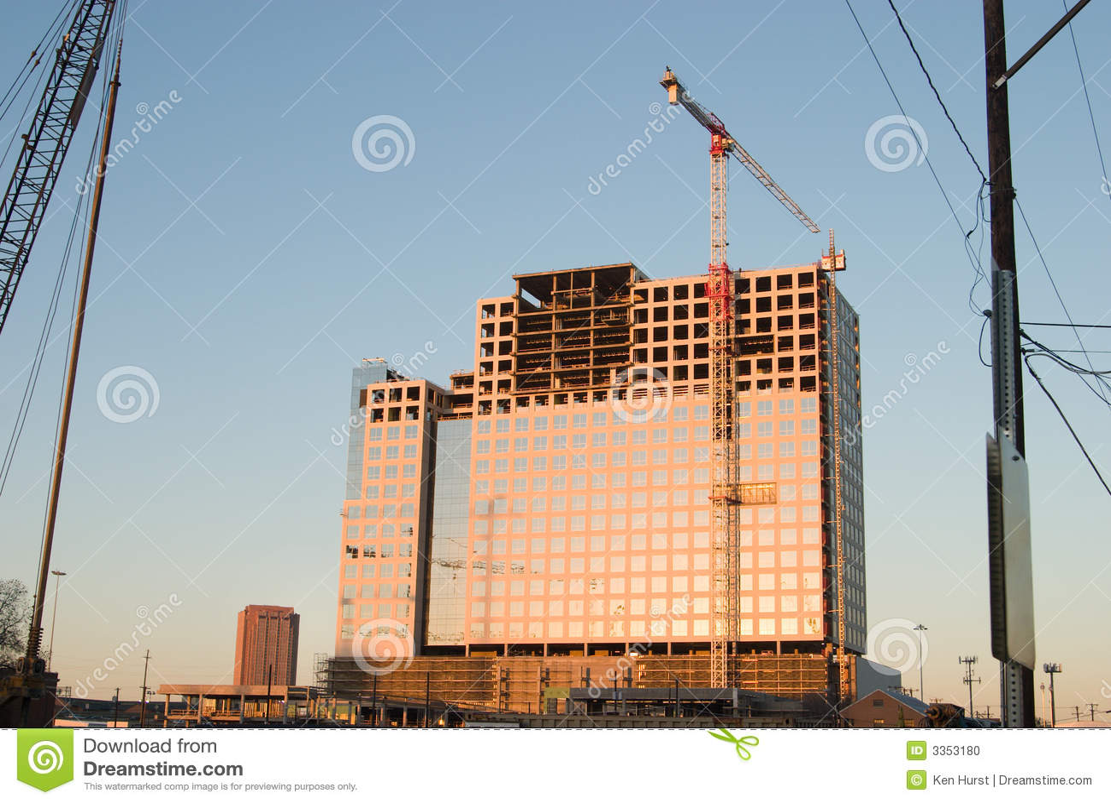 Construção de edifício + Crane2