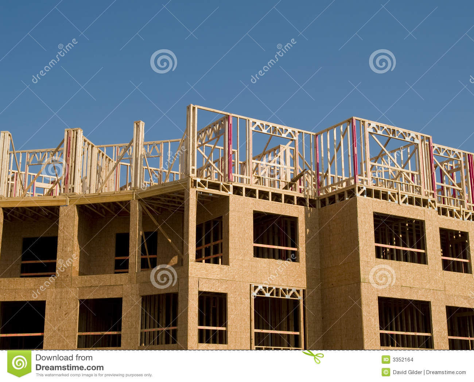 Construção de edifício urbana