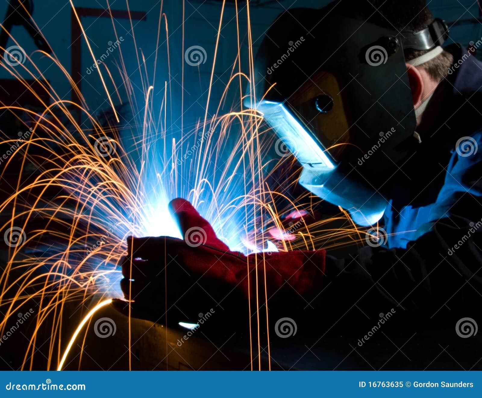 Construção do aço da soldadura