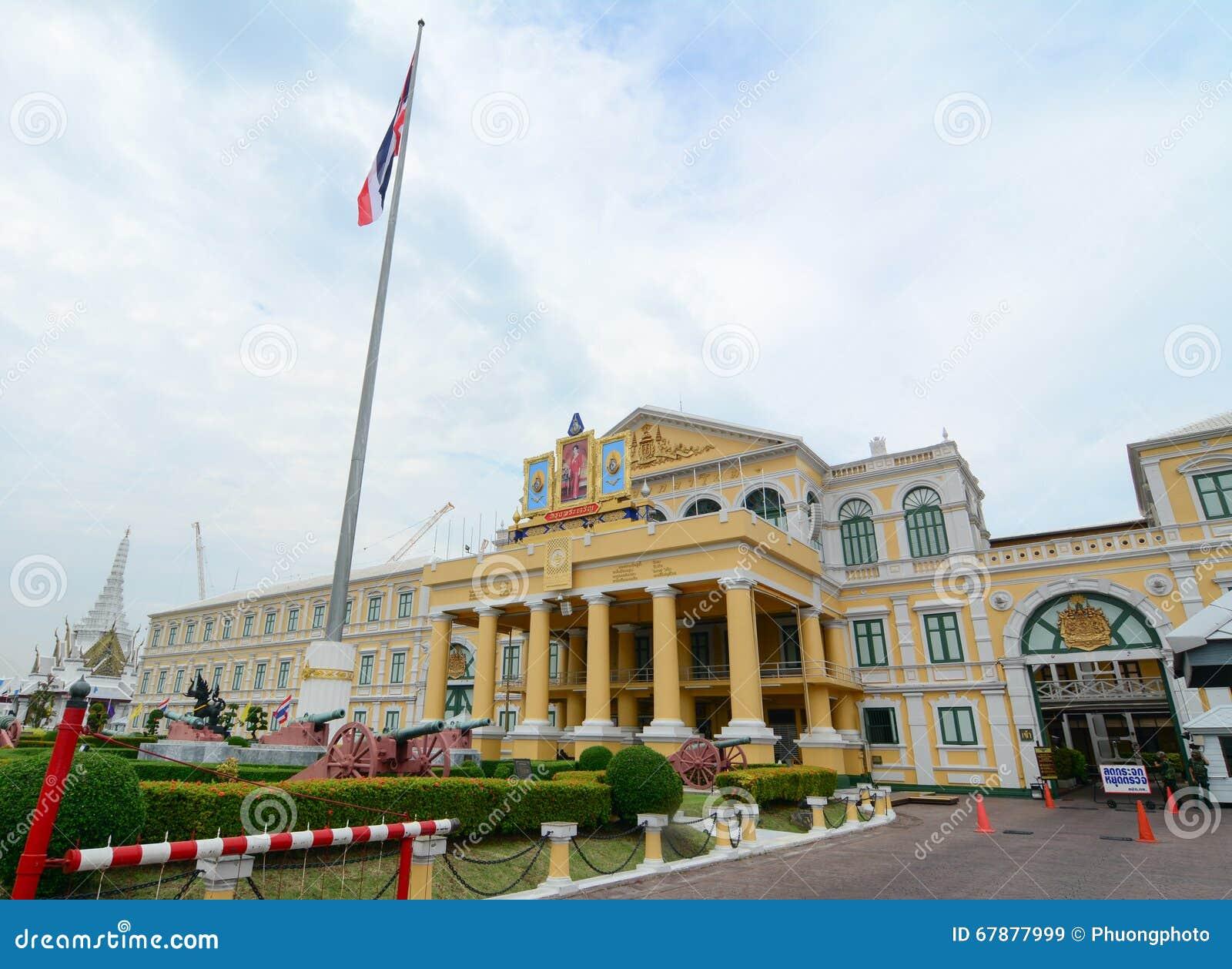 Construção do Ministério de Defesa em Banguecoque, Tailândia