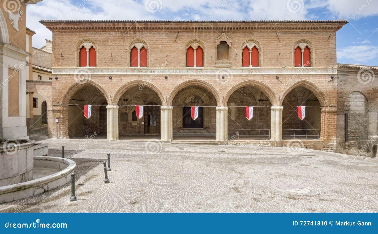 Construção em Fabriano Itália Marche