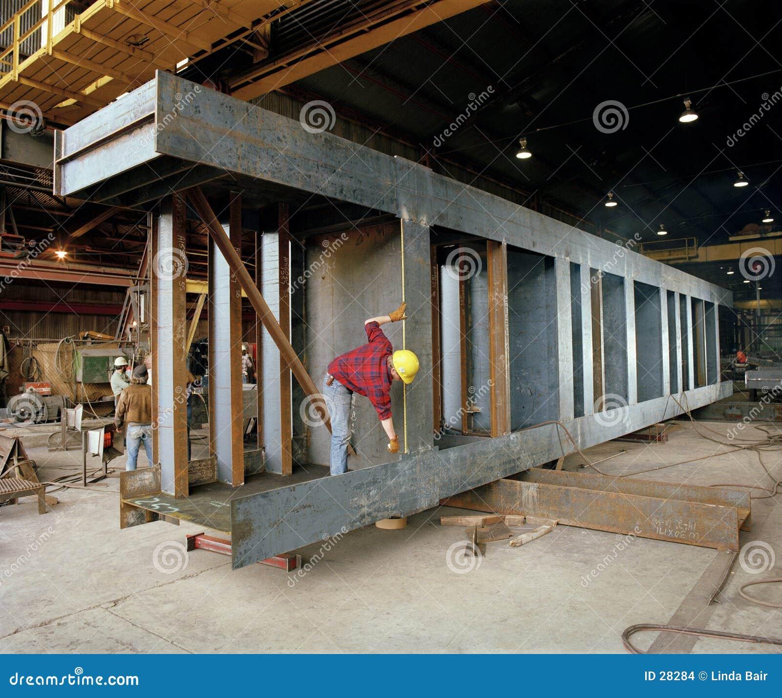 Construção: Fabricação de aço