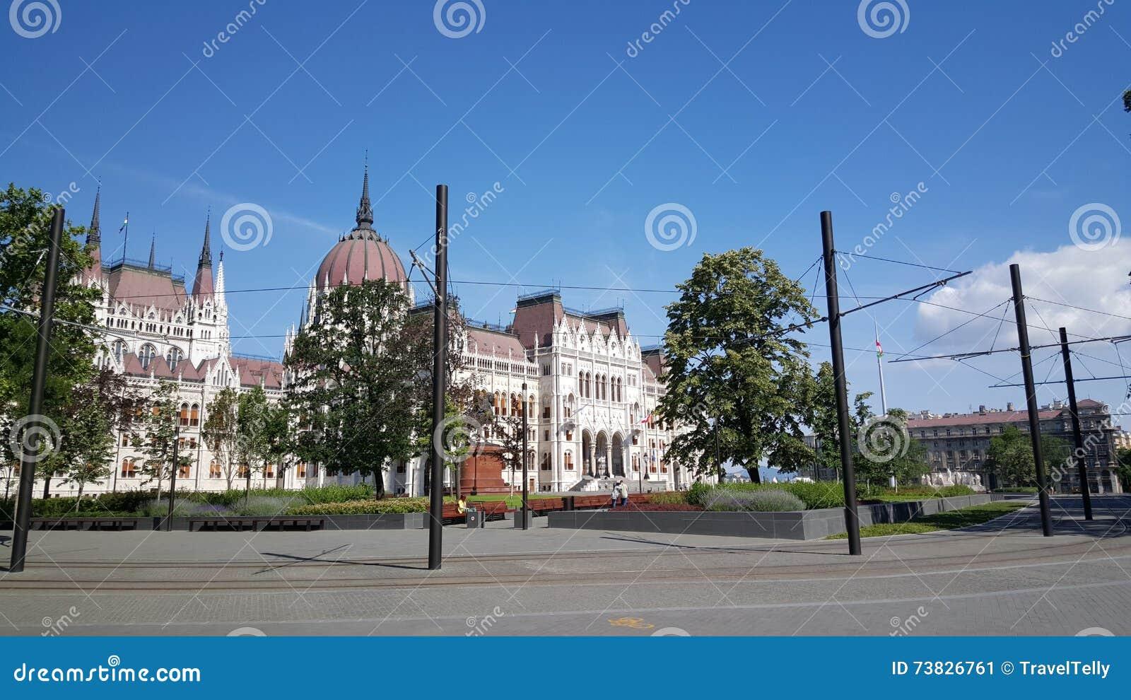Construção húngara do parlamento