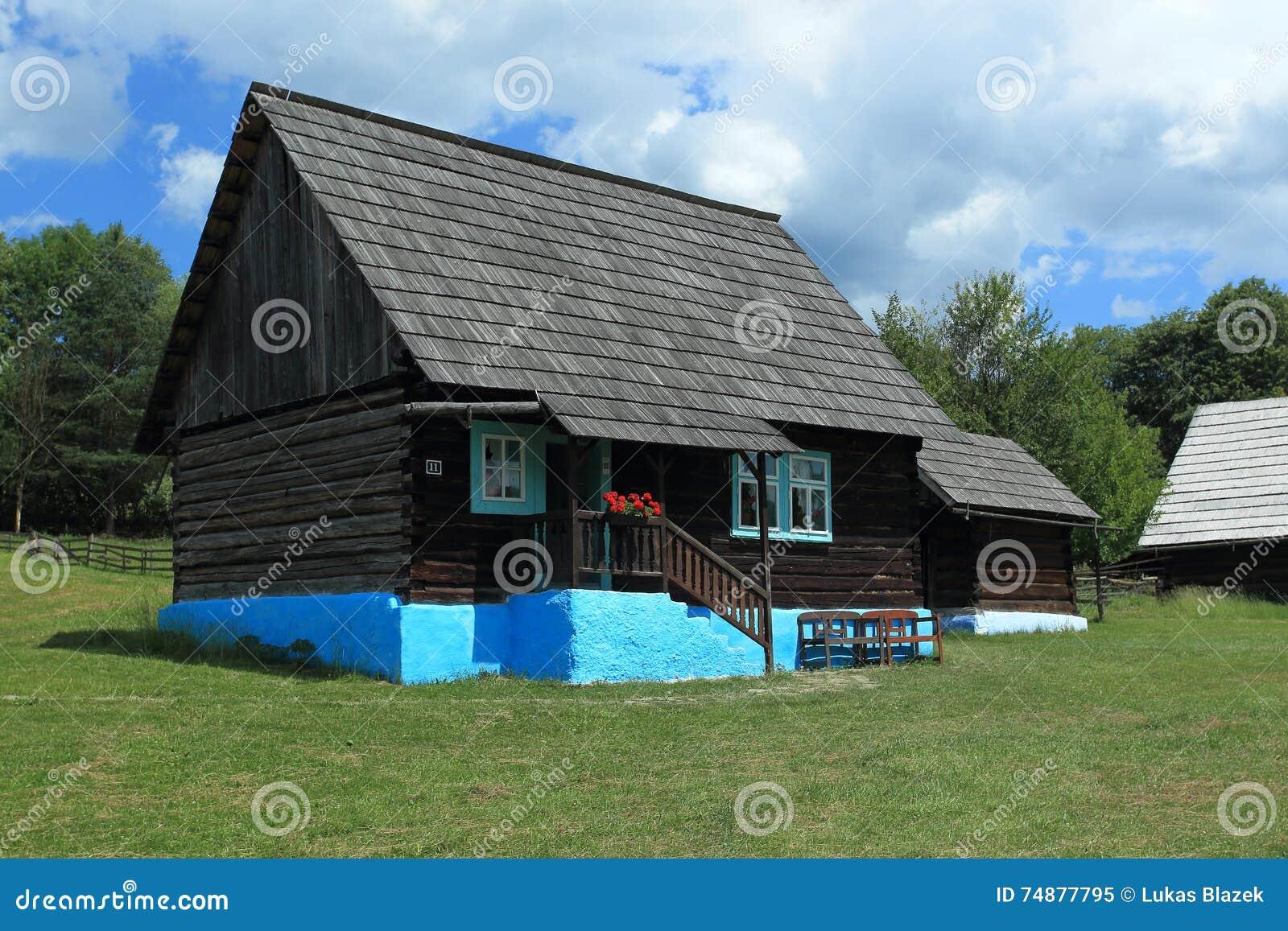 Construção histórica em Stara Lubovna