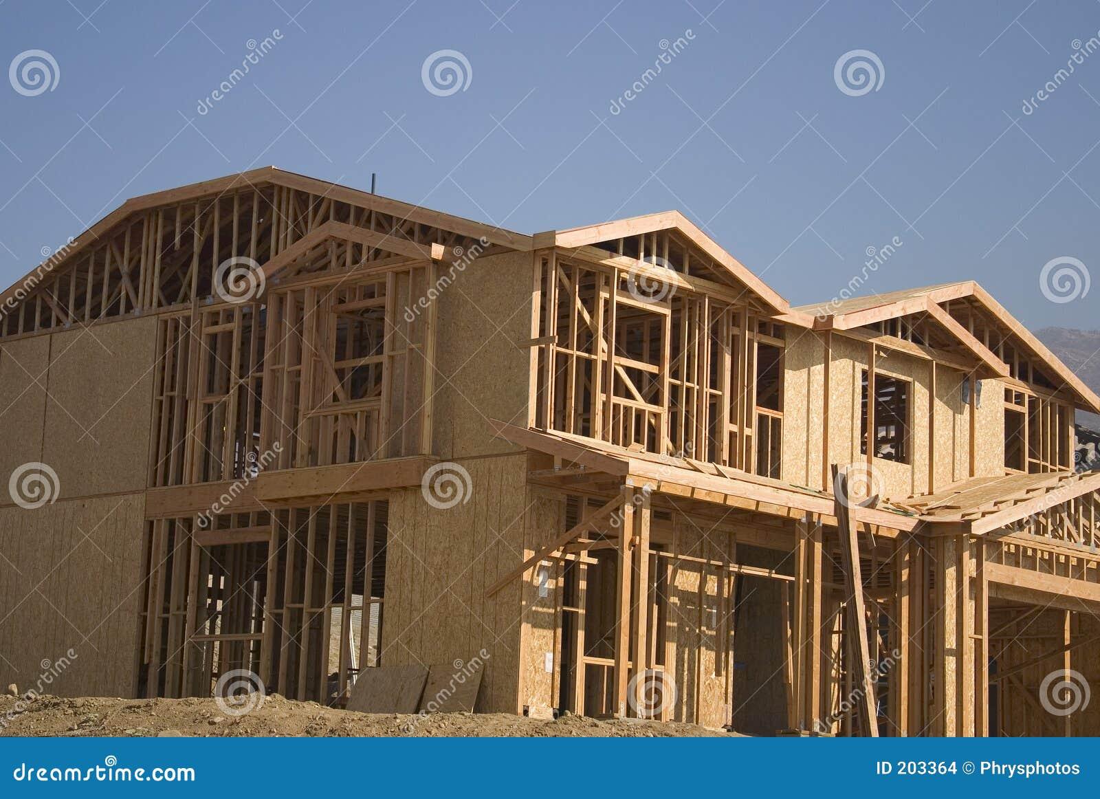 Construção home nova