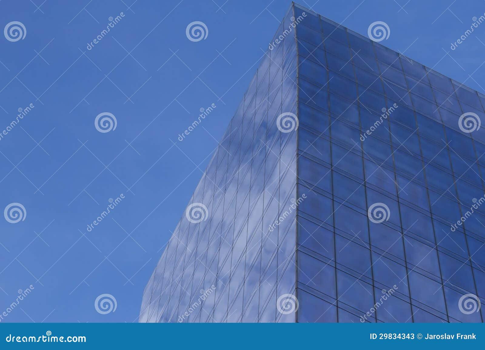 Construção moderna do negócio