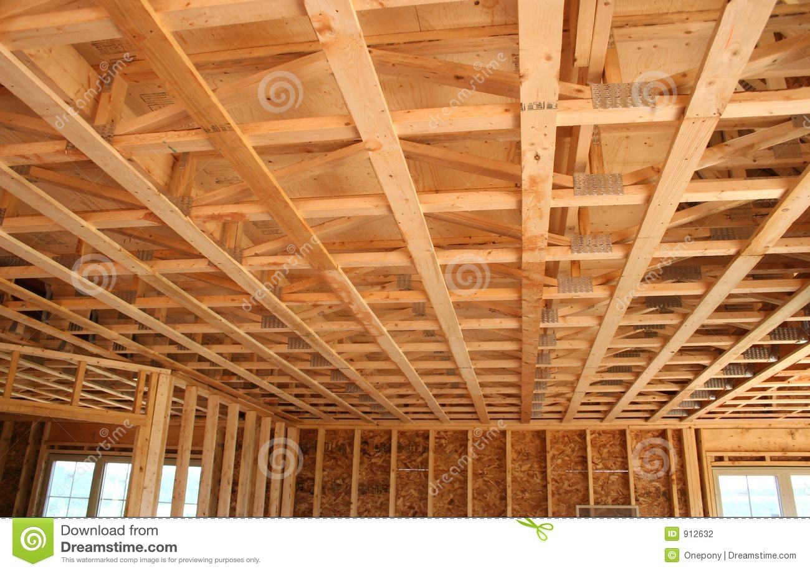 Construção nova do teto