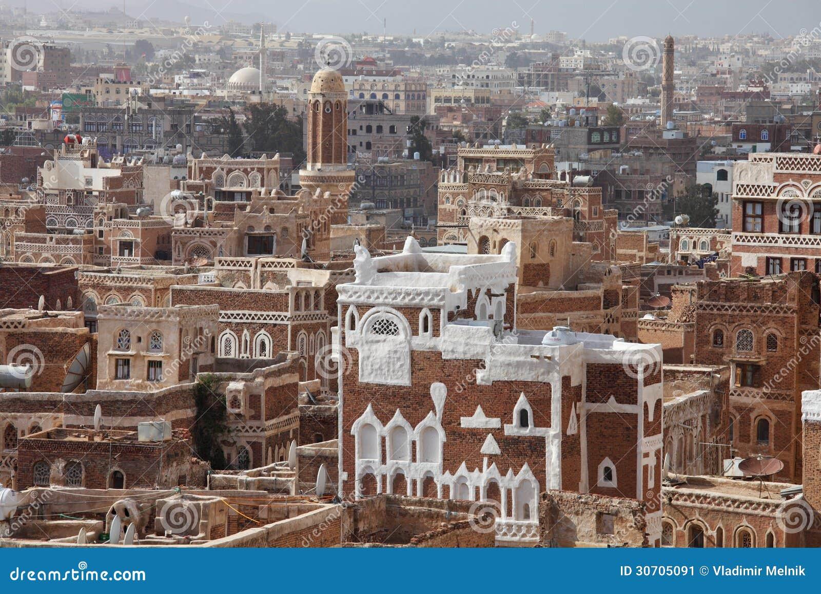 Construções velhas de Sanaa