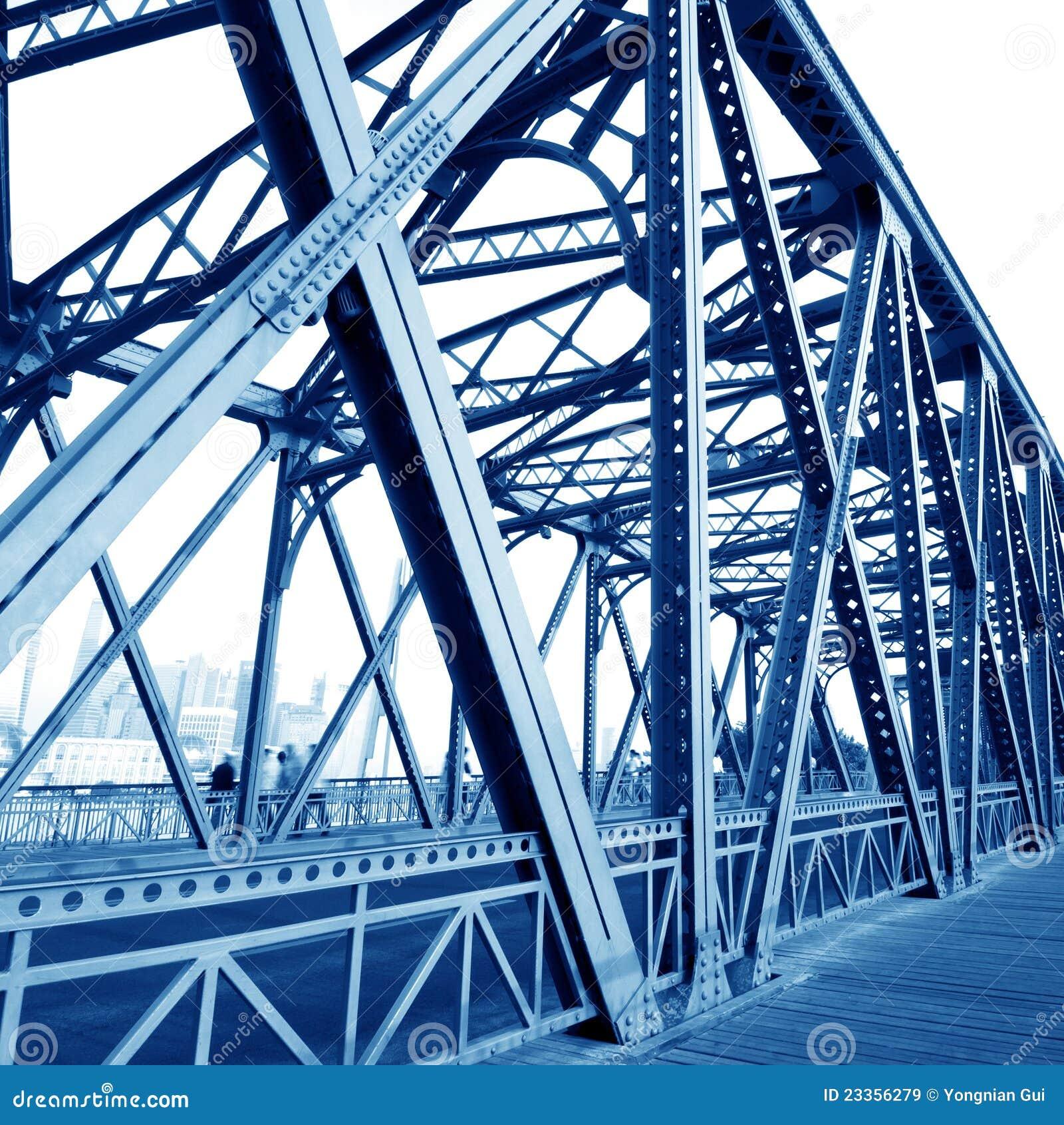 Construa uma ponte sobre feixes de sustentação