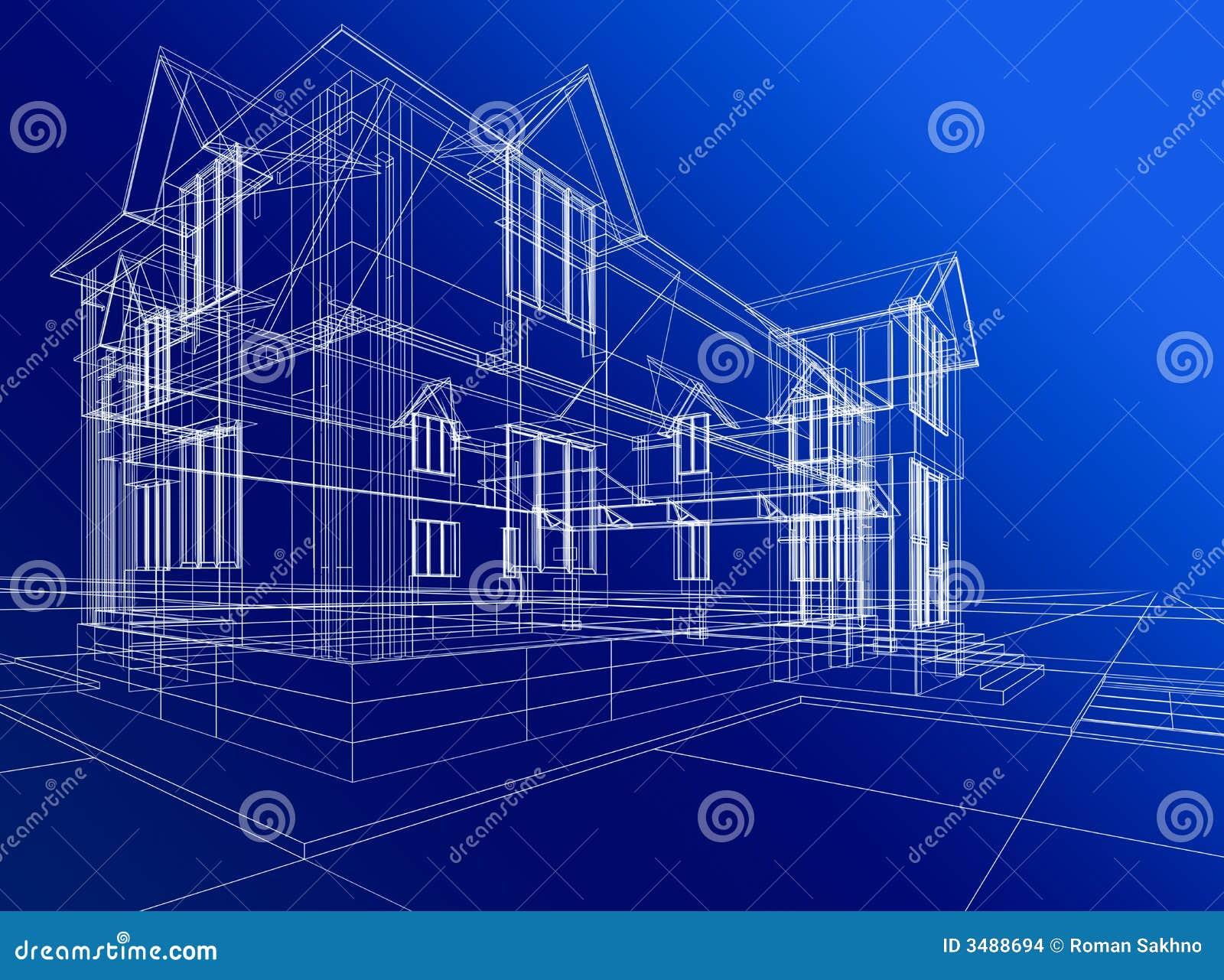 Construcci n abstracta de la casa imagenes de archivo - La casa de la construccion ...