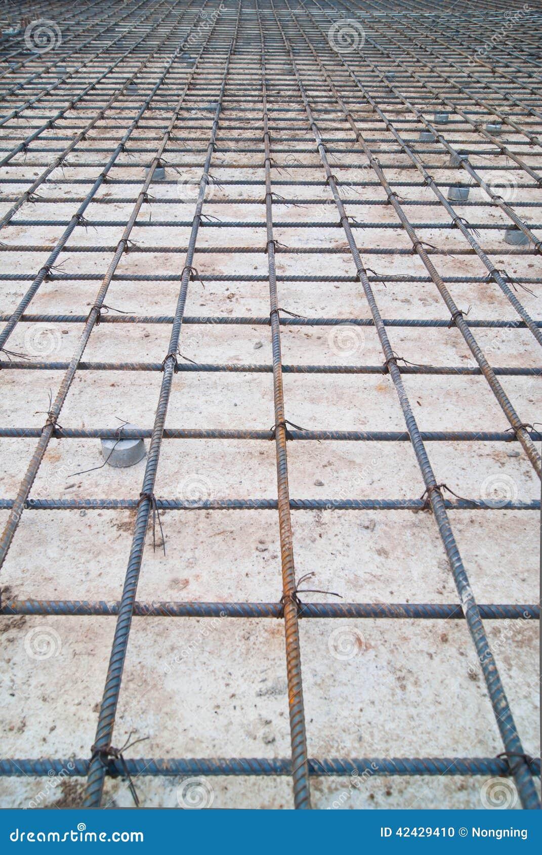 Construcción de acero de la malla