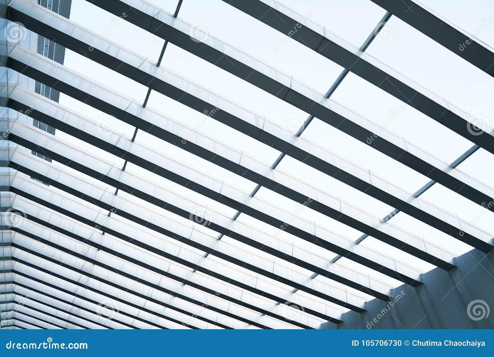 Construcción De Edificios Del Marco Del Acero Del Metal Foto de ...