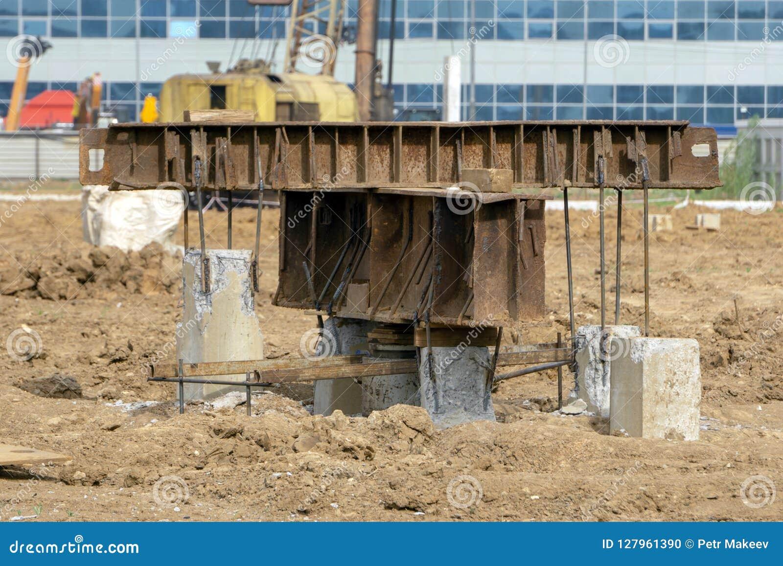 Construcción de prueba de la fundación de la fundación de pila