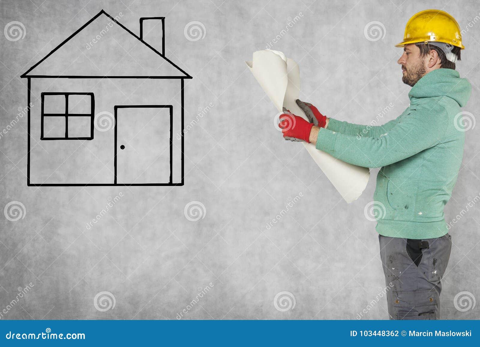 Construcción de un nuevo hogar, planes constructivos