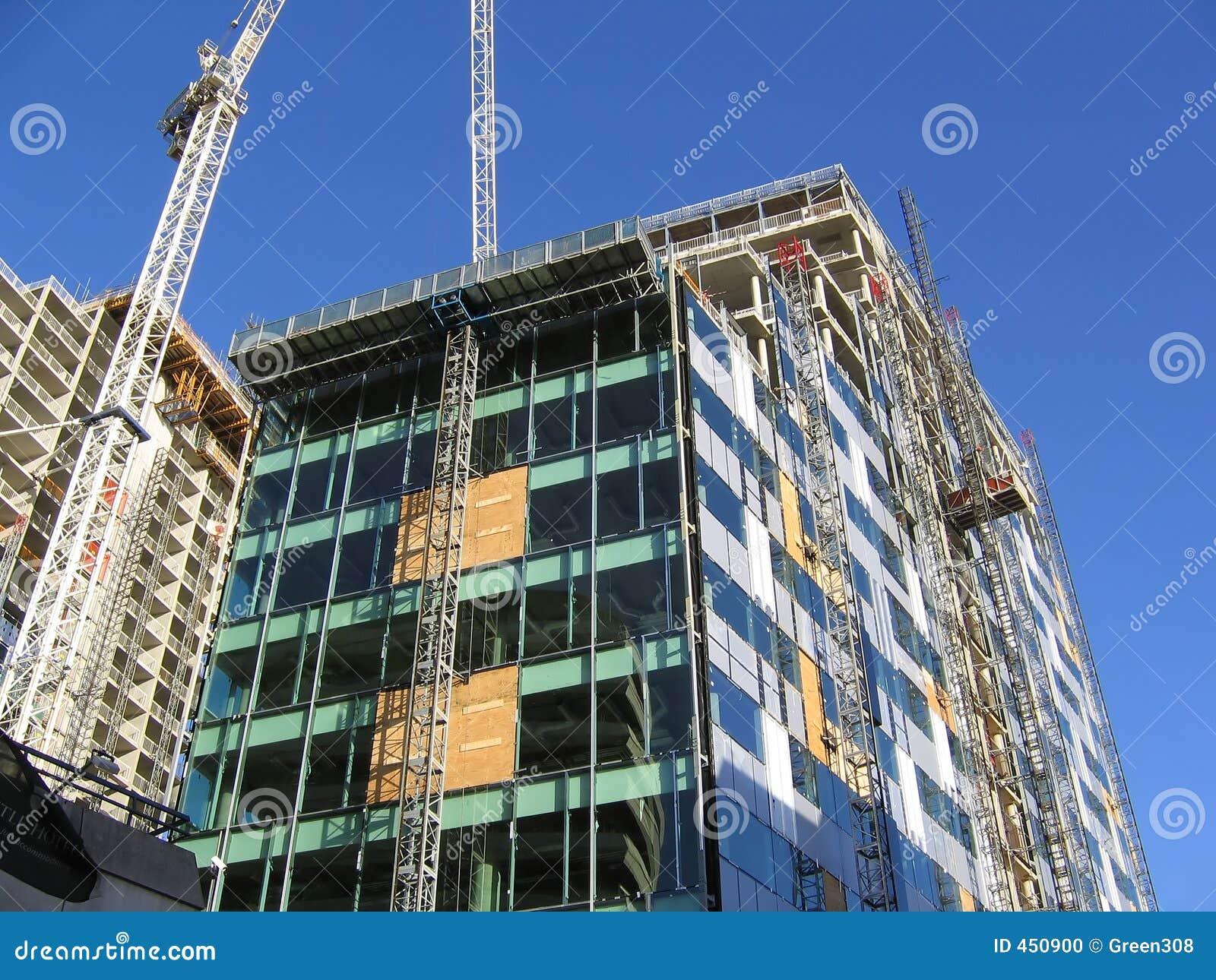 Construcci N Del Edificio De Oficinas Moderno En Liverpool