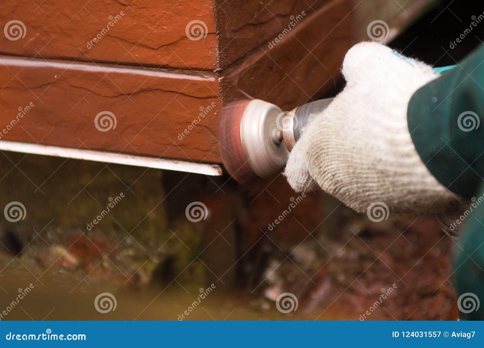 Constructeur Polissant Le Mur Rouge Thème D\'environnement De Chambre ...