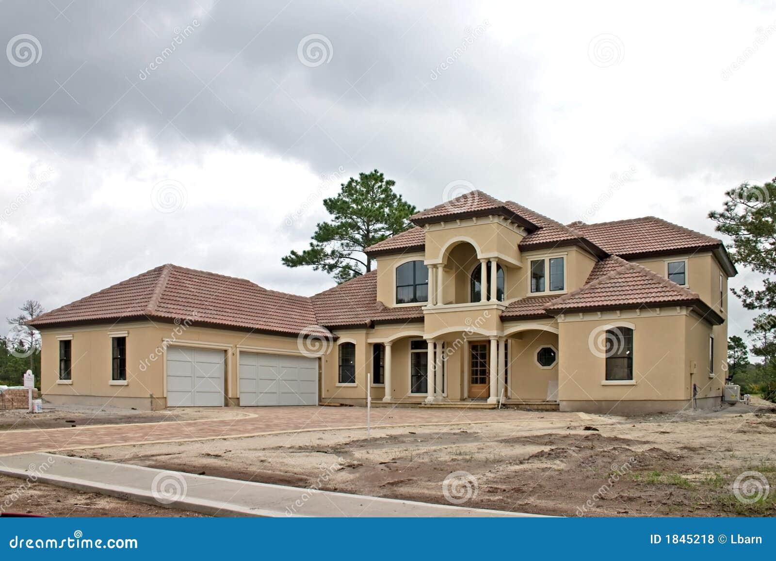 Favori Construction à La Maison De Luxe 1 Photo stock - Image: 1845218 KI99