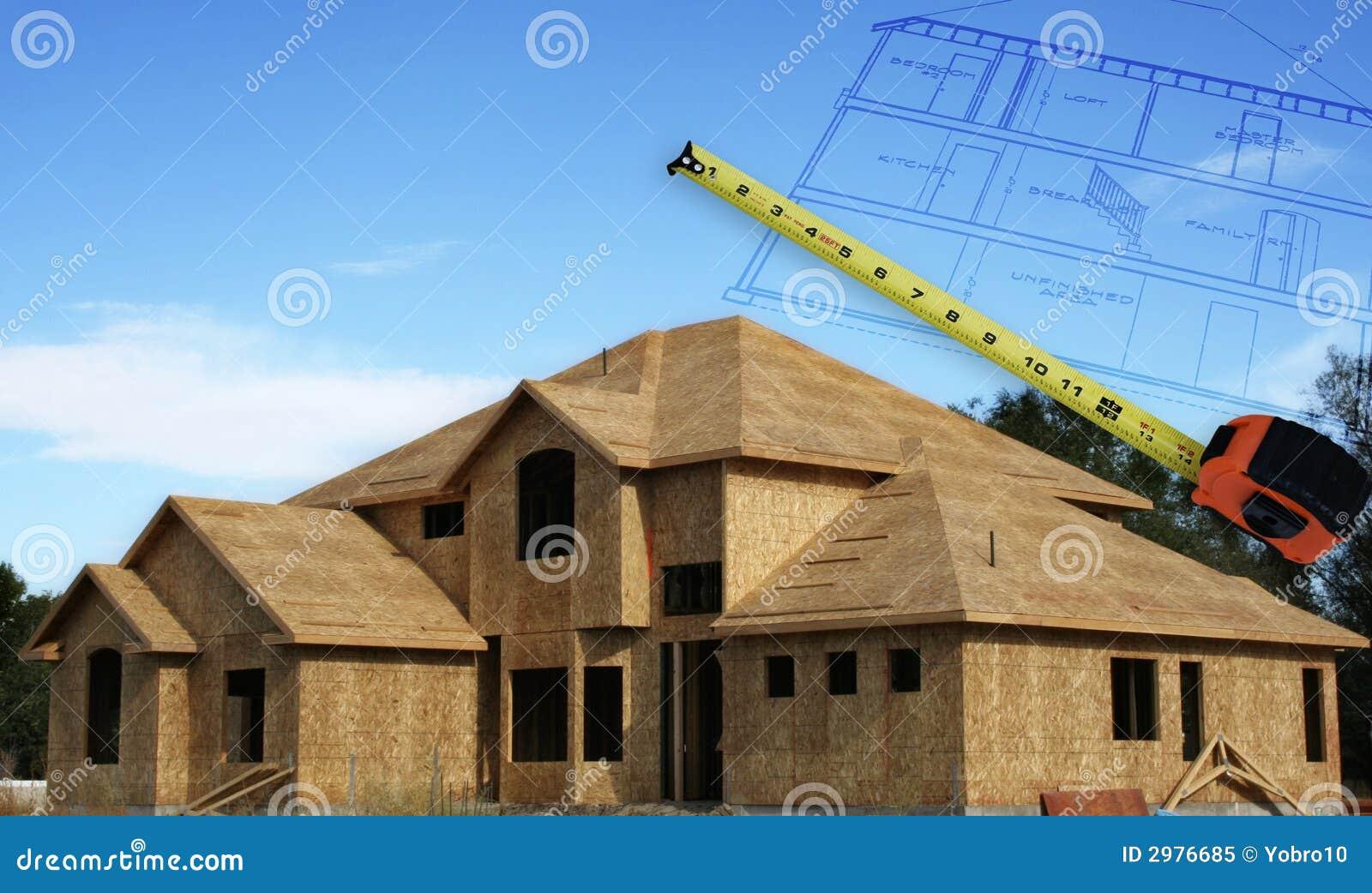 Construction à la maison
